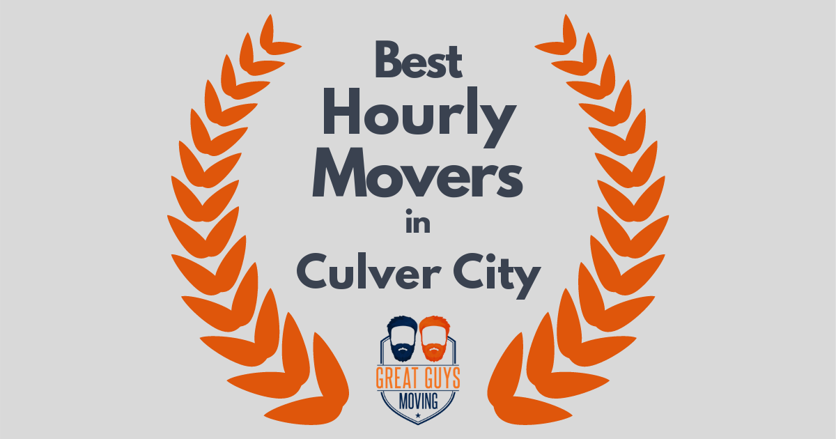 Best Hourly Movers in Culver City, CA