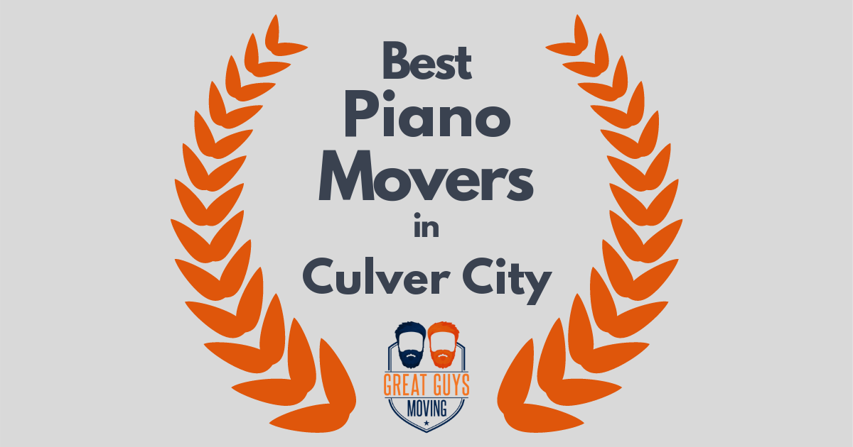 Best Piano Movers in Culver City, CA