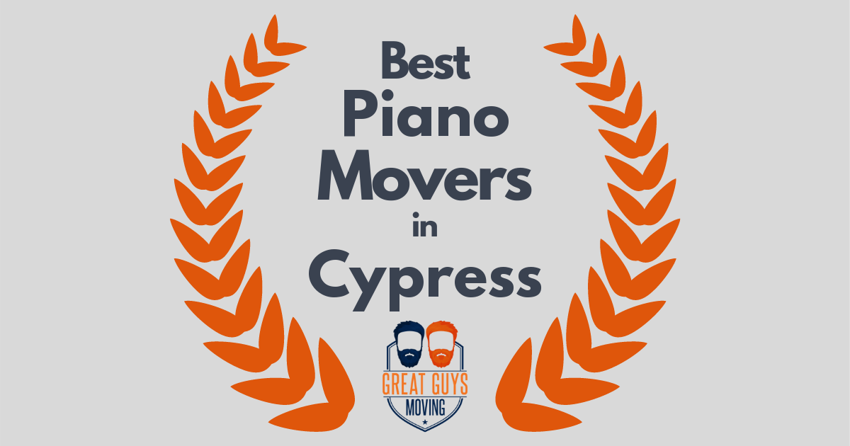 Best Piano Movers in Cypress, CA