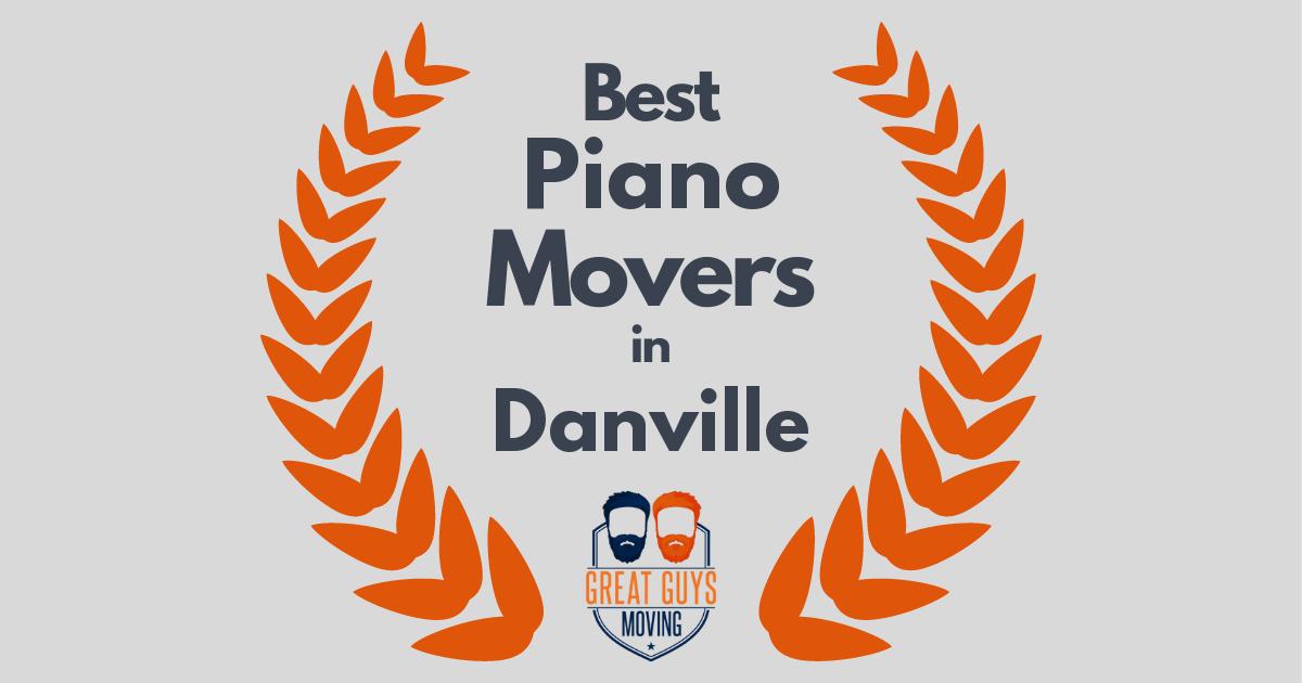 Best Piano Movers in Danville, CA