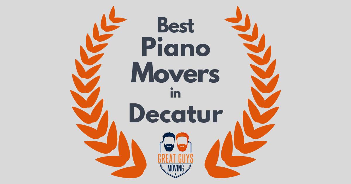 Best Piano Movers in Decatur, AL