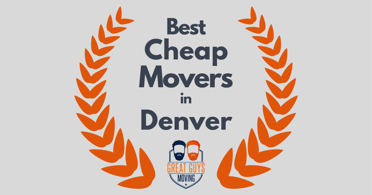 Best Cheap Movers in Denver, CO