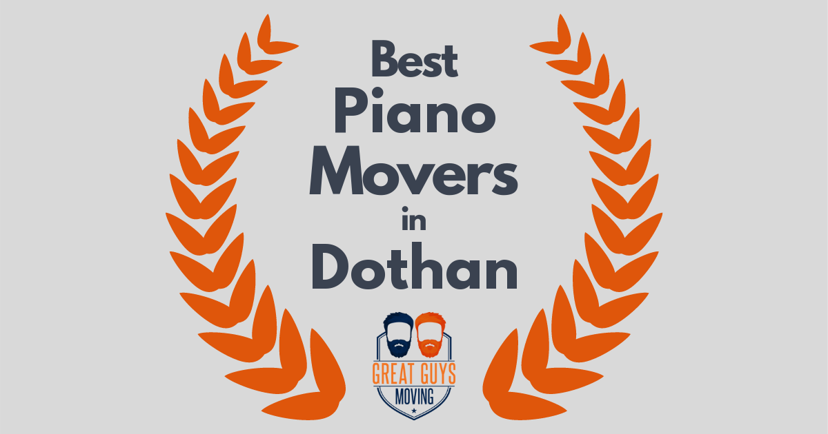 Best Piano Movers in Dothan, AL