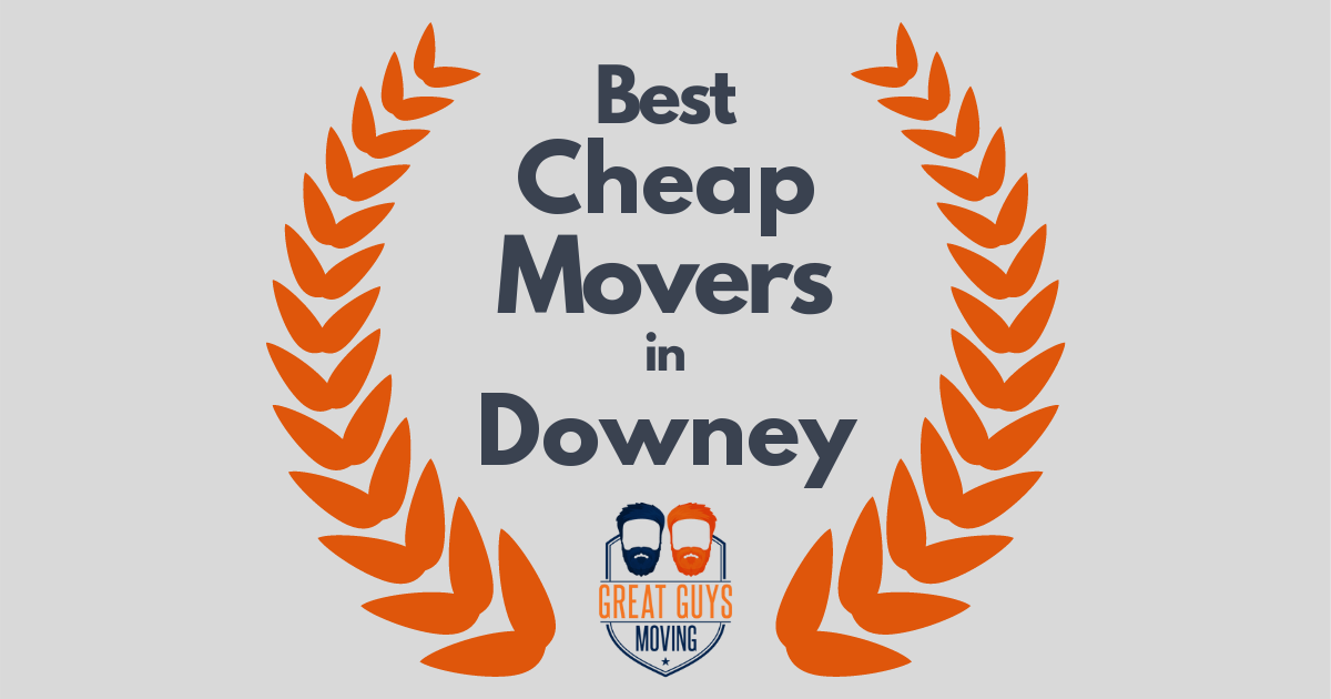 Best Cheap Movers in Downey, CA