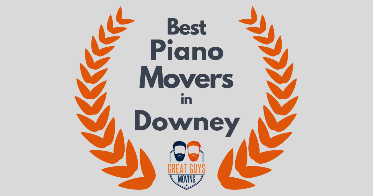 Best Piano Movers in Downey, CA