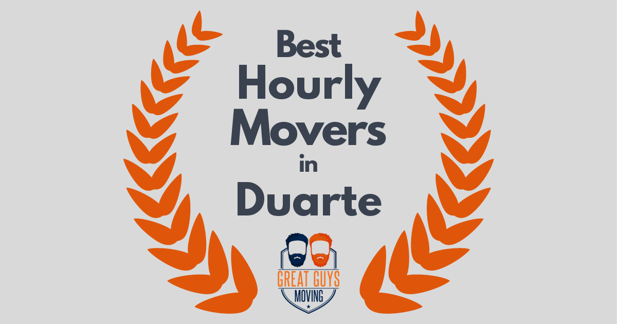 Best Hourly Movers in Duarte, CA