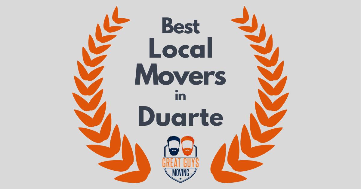 Best Local Movers in Duarte, CA