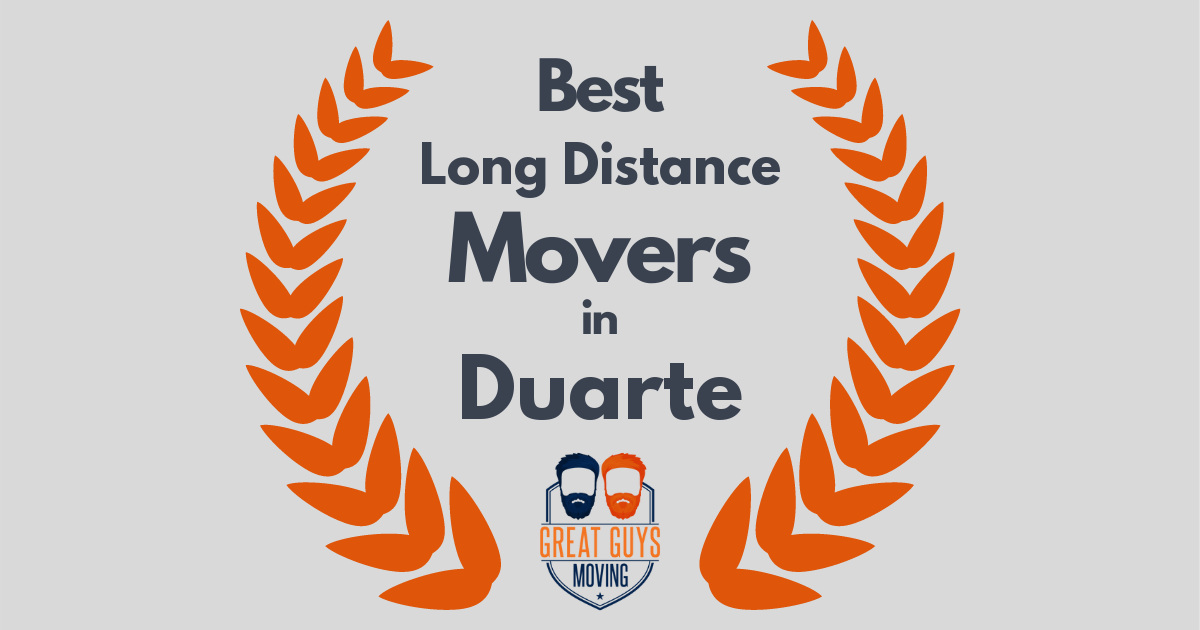 Best Long Distance Movers in Duarte, CA