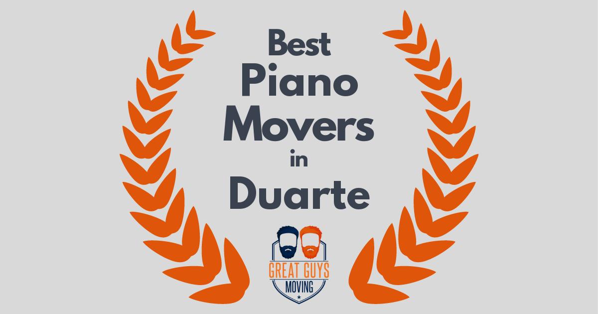 Best Piano Movers in Duarte, CA