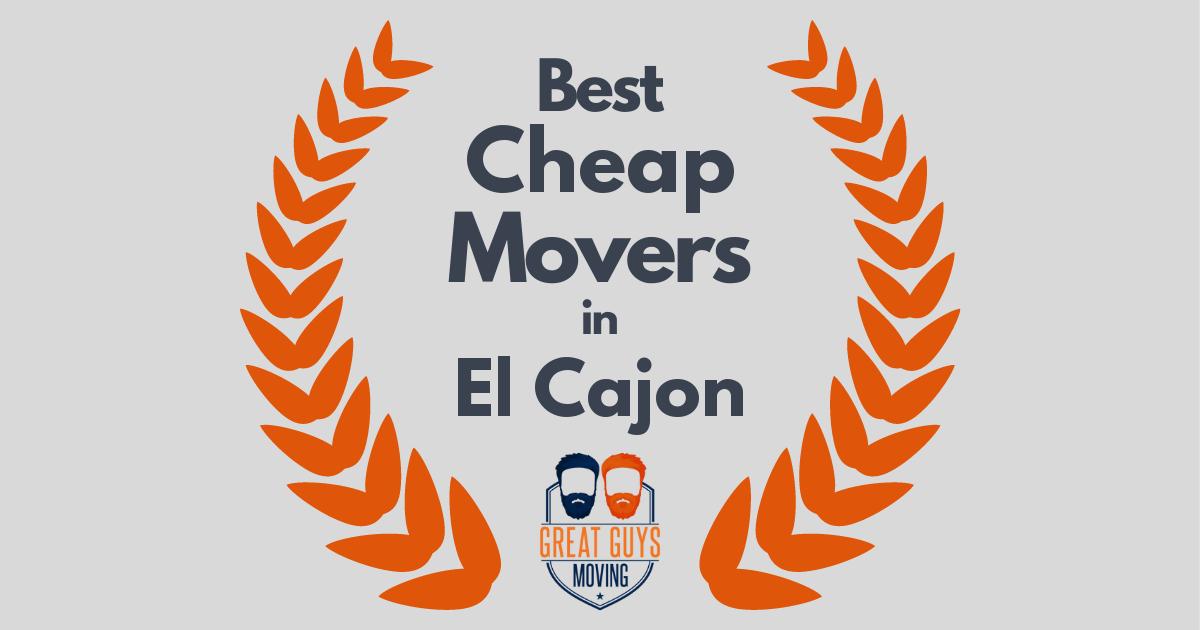 Best Cheap Movers in El Cajon, CA