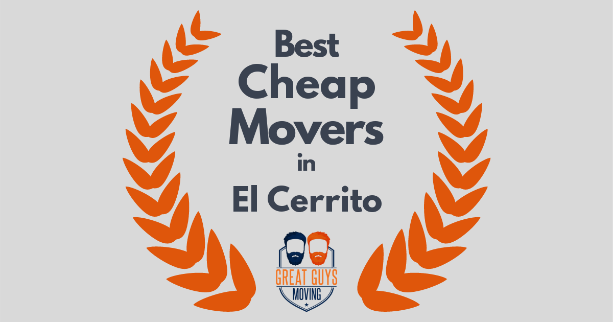 Best Cheap Movers in El Cerrito, CA