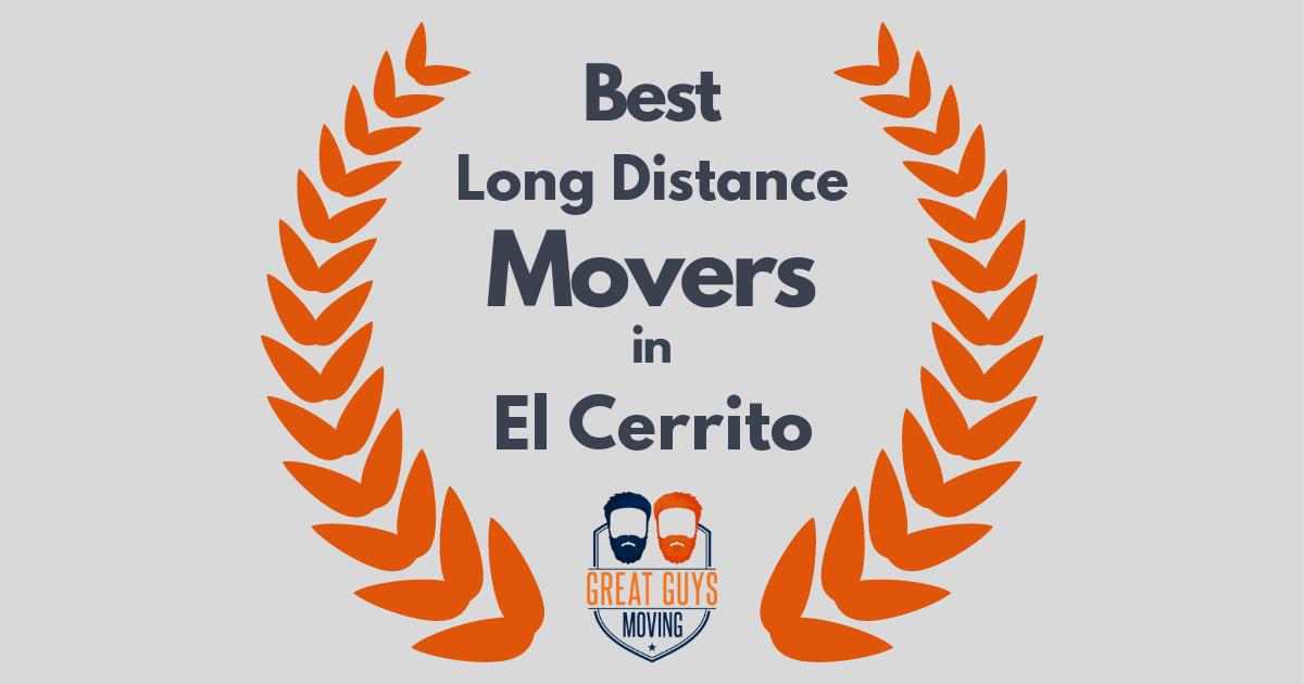 Best Long Distance Movers in El Cerrito, CA