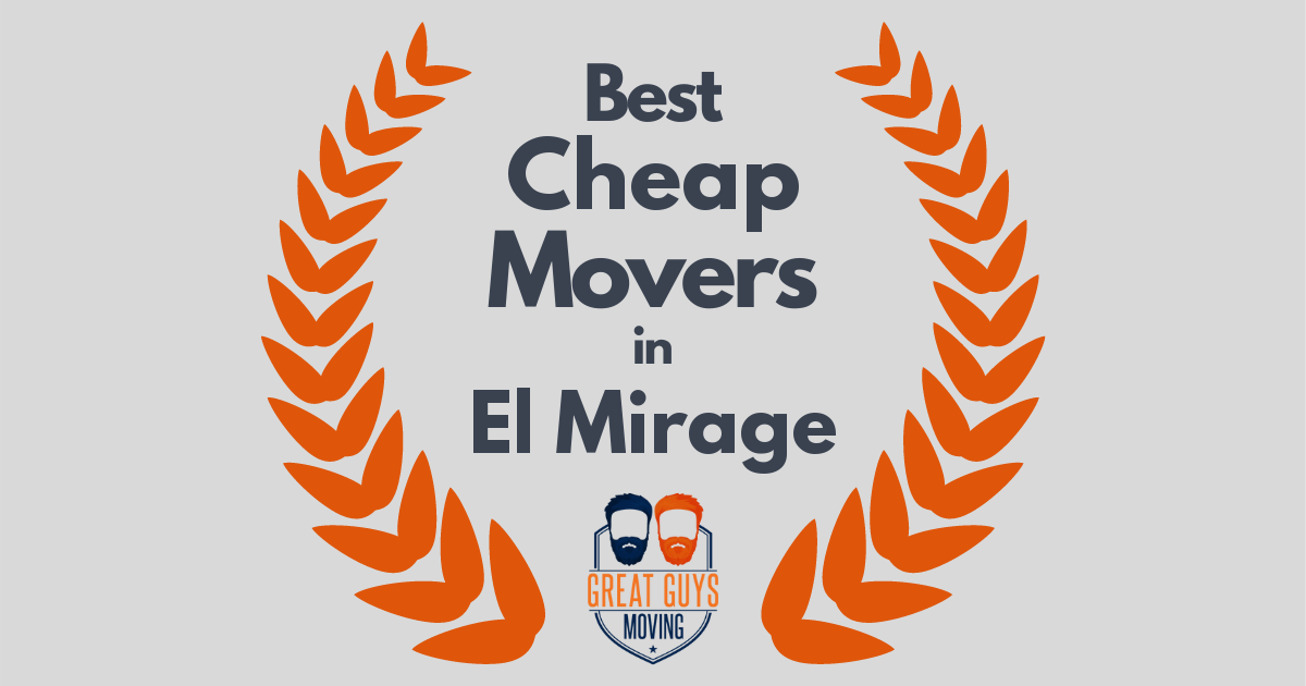 Best Cheap Movers in El Mirage, AZ