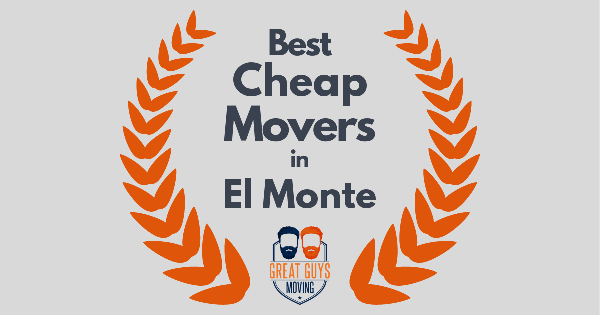 Best Cheap Movers in El Monte, CA