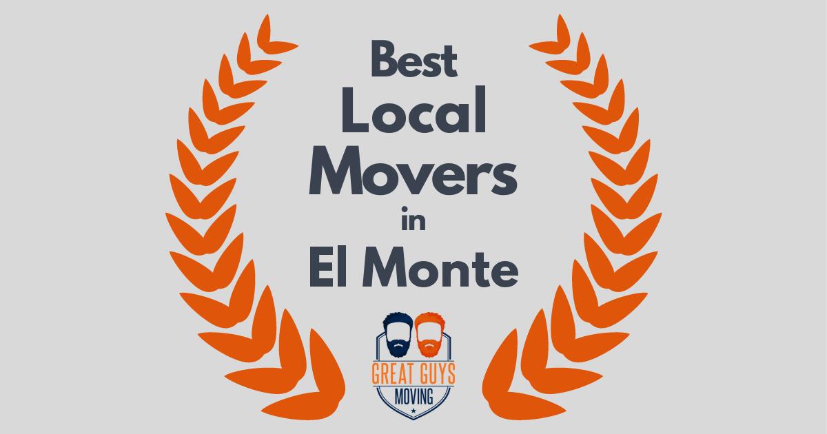 Best Local Movers in El Monte, CA