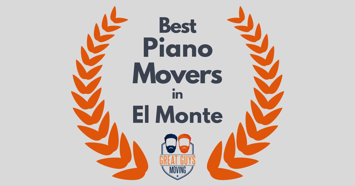 Best Piano Movers in El Monte, CA