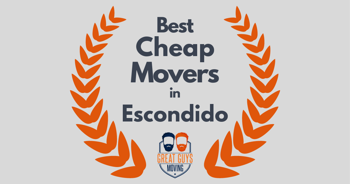 Best Cheap Movers in Escondido, CA