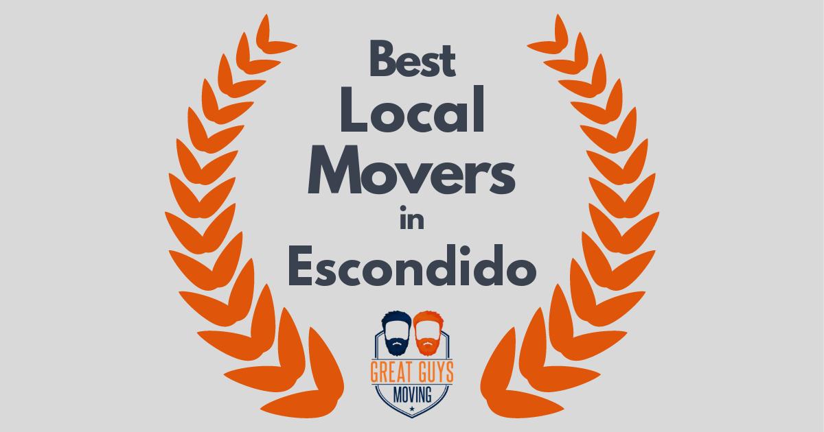 Best Local Movers in Escondido, CA