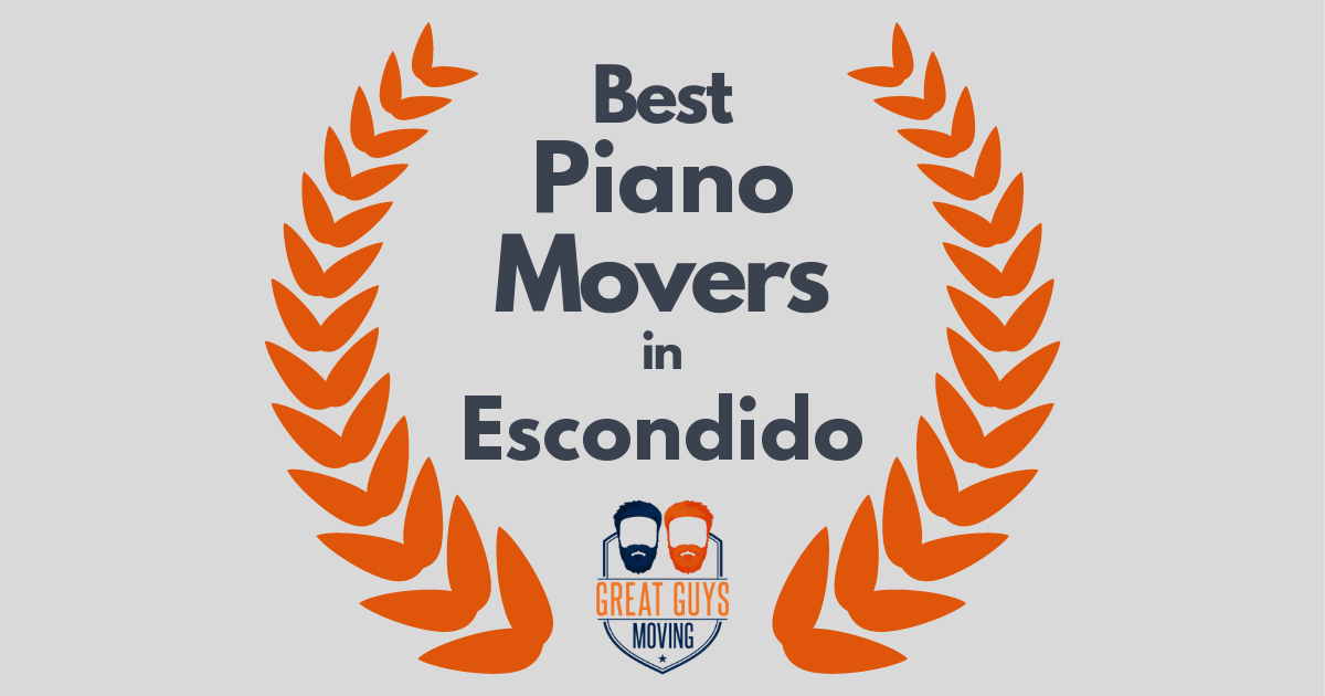Best Piano Movers in Escondido, CA