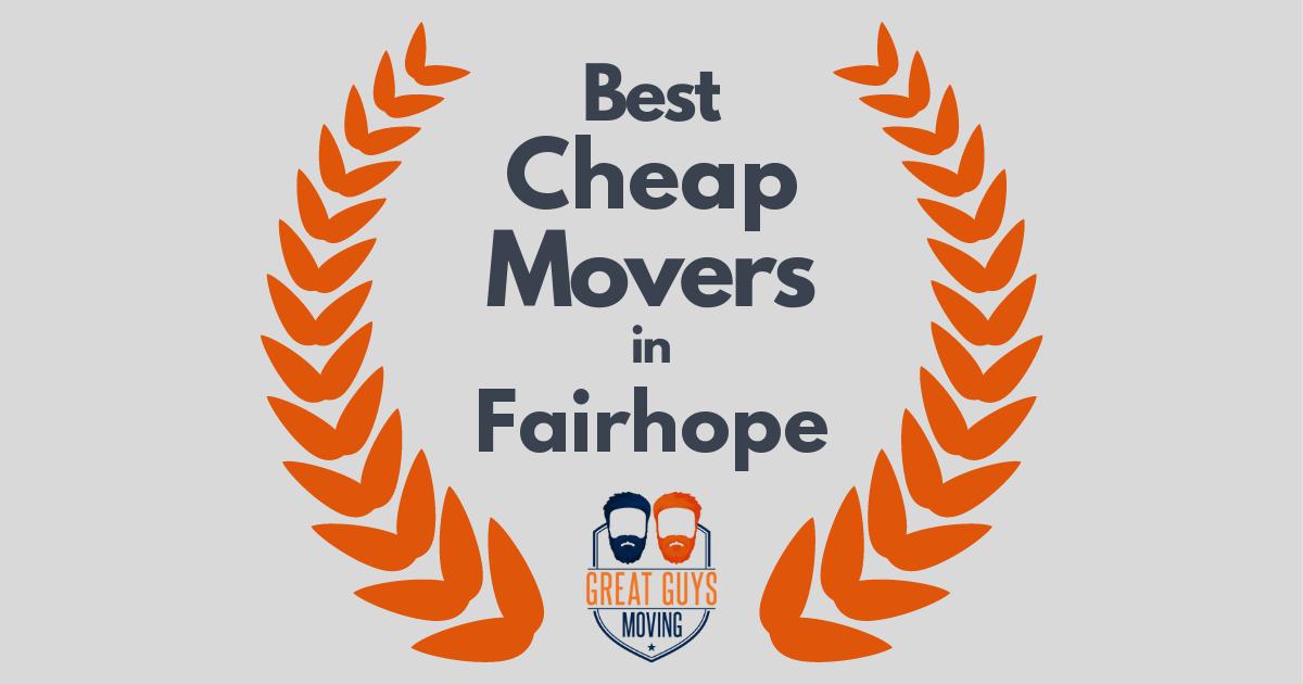 Best Cheap Movers in Fairhope, AL