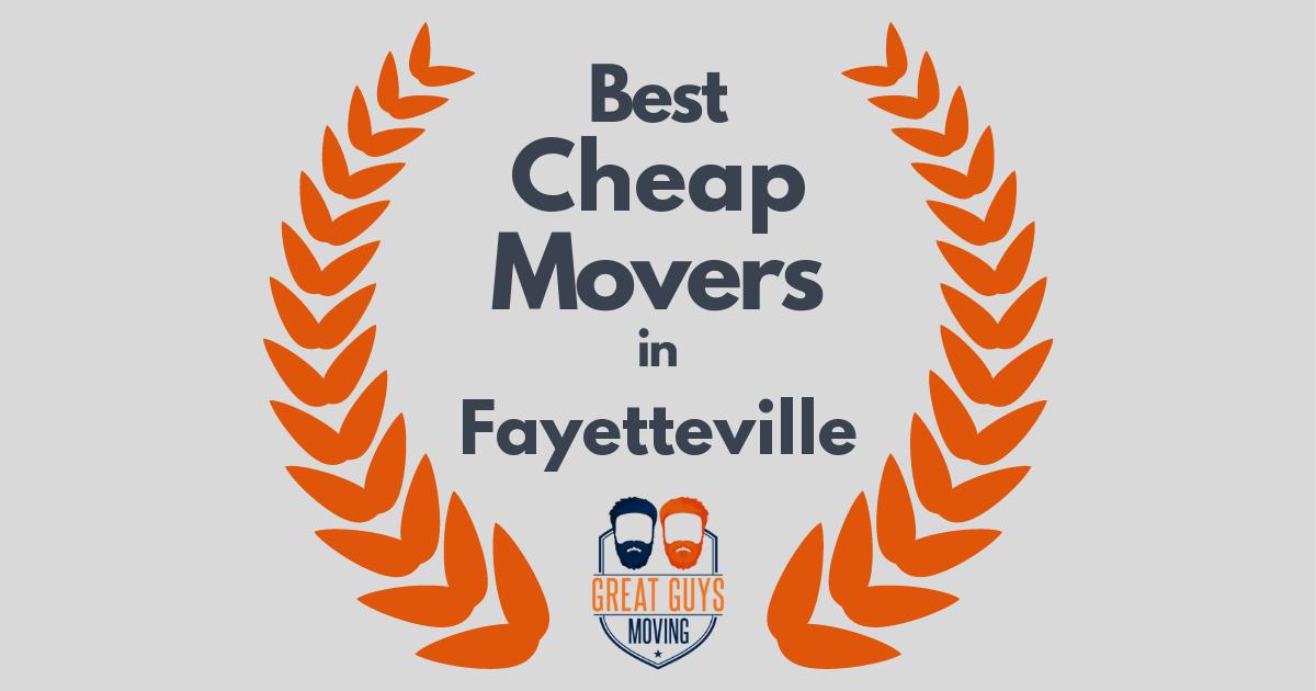 Best Cheap Movers in Fayetteville, AR
