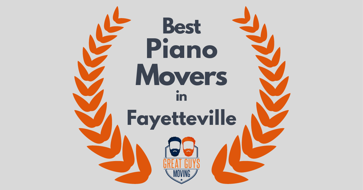 Best Piano Movers in Fayetteville, AR