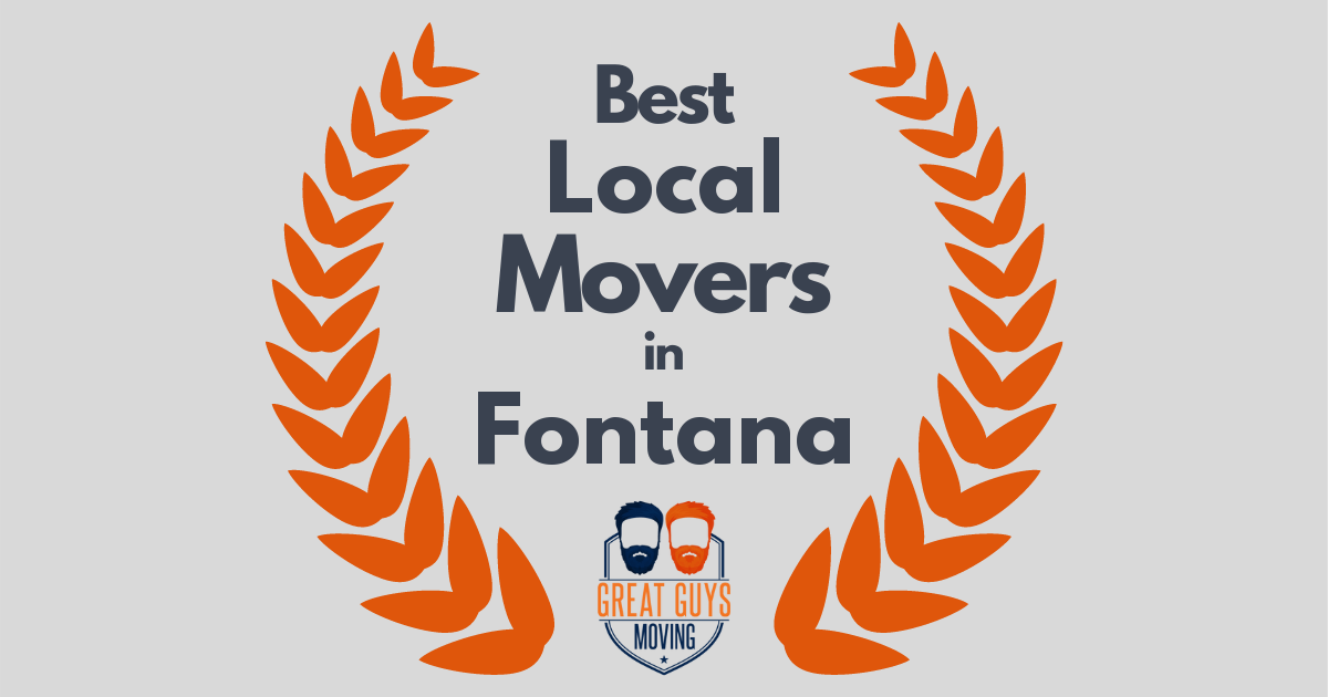 Best Local Movers in Fontana, CA