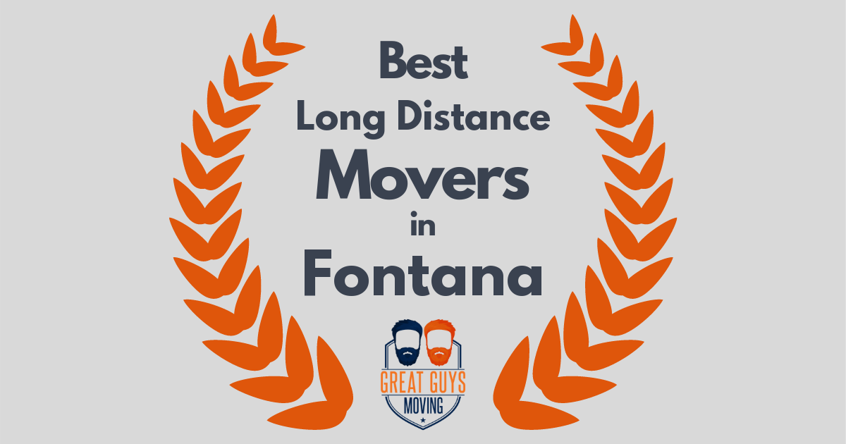 Best Long Distance Movers in Fontana, CA