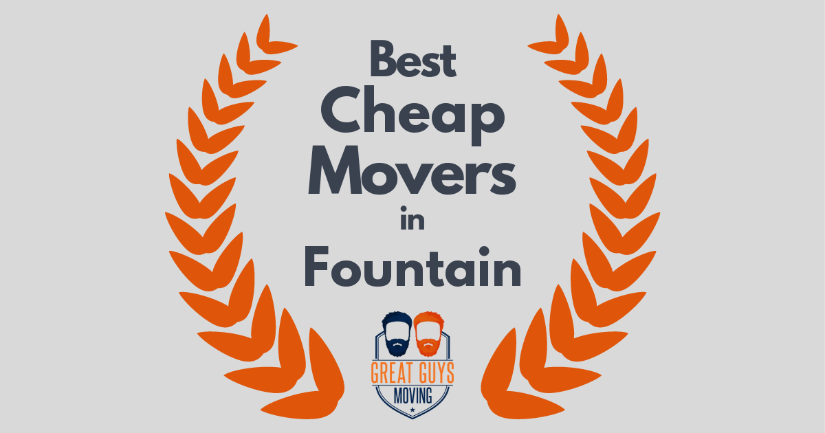 Best Cheap Movers in Fountain, CO
