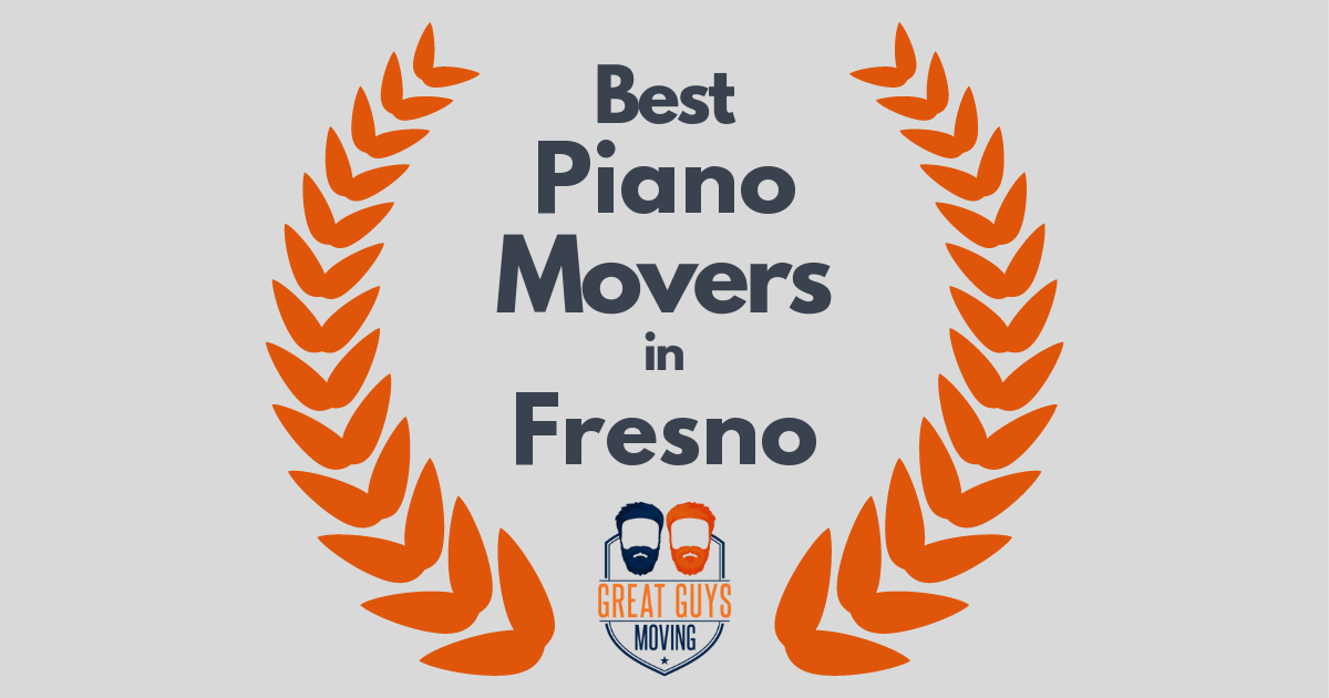 Best Piano Movers in Fresno, CA
