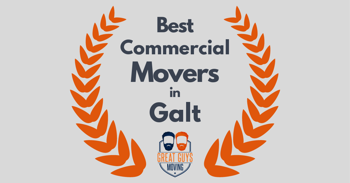 Best Commercial Movers in Galt, CA