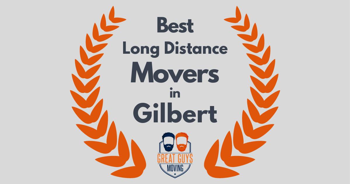 Best Long Distance Movers in Gilbert, AZ