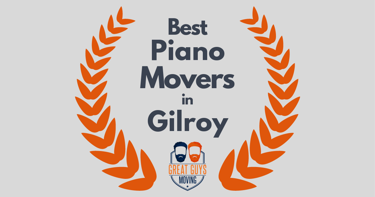 Best Piano Movers in Gilroy, CA