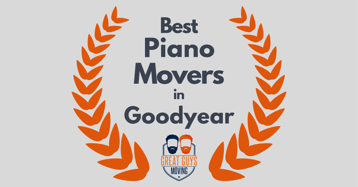 Best Piano Movers in Goodyear, AZ