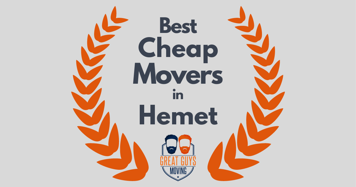 Best Cheap Movers in Hemet, CA