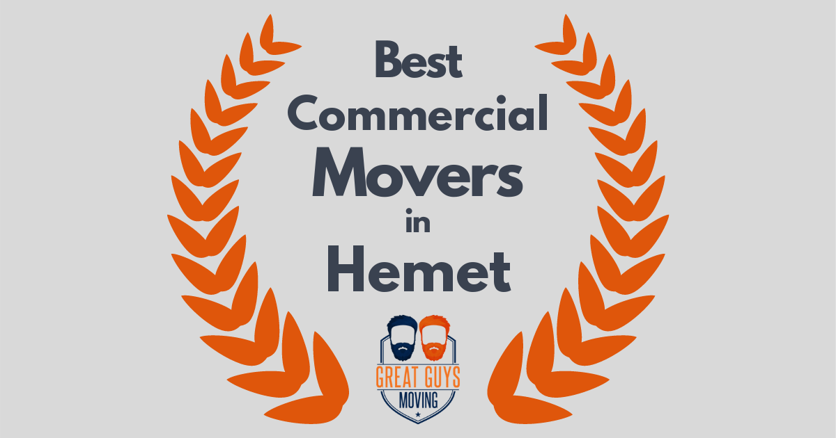 Best Commercial Movers in Hemet, CA