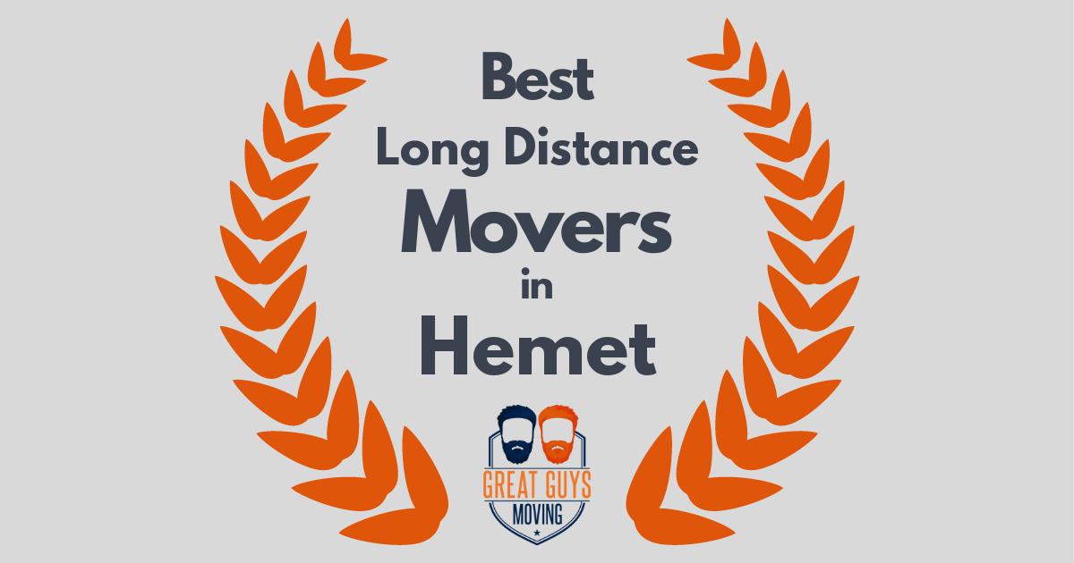 Best Long Distance Movers in Hemet, CA