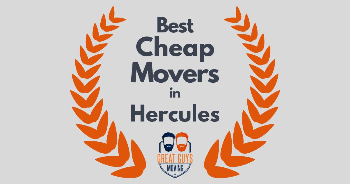 Best Cheap Movers in Hercules, CA