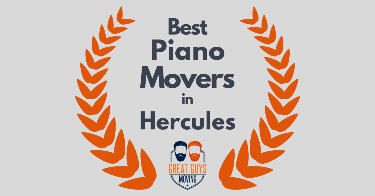 Best Piano Movers in Hercules, CA