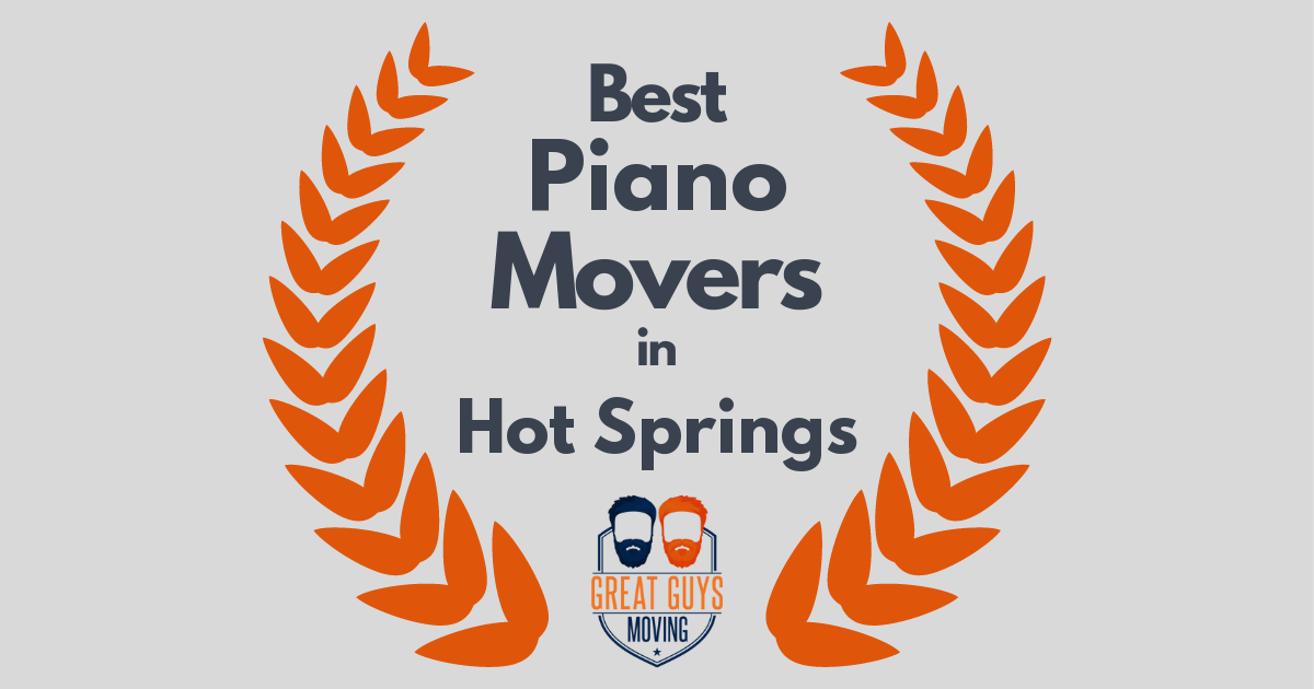 Best Piano Movers in Hot Springs, AR