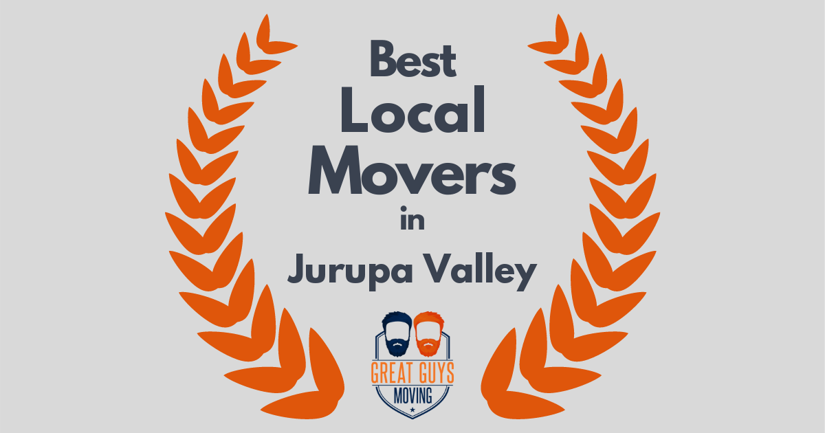 Best Local Movers in Jurupa Valley, CA