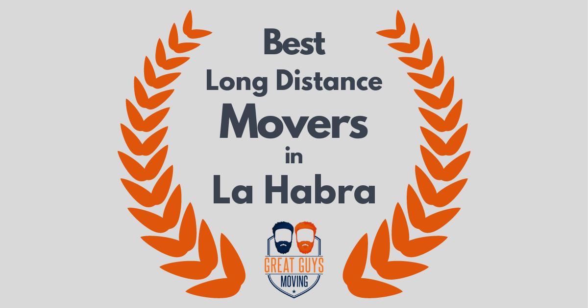 Best Long Distance Movers in La Habra, CA