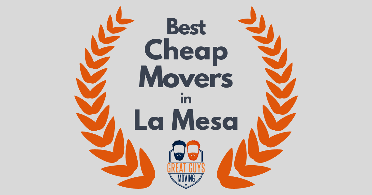 Best Cheap Movers in La Mesa, CA