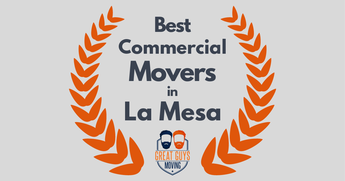Best Commercial Movers in La Mesa, CA