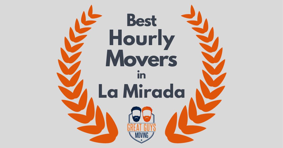 Best Hourly Movers in La Mirada, CA