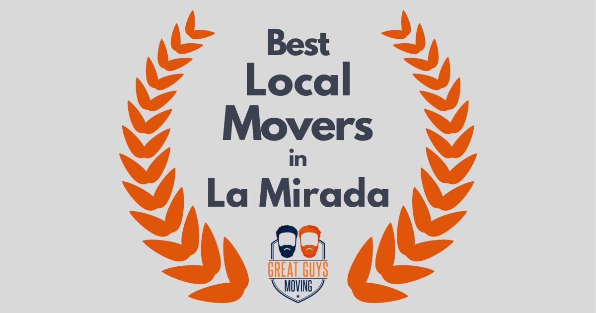 Best Local Movers in La Mirada, CA