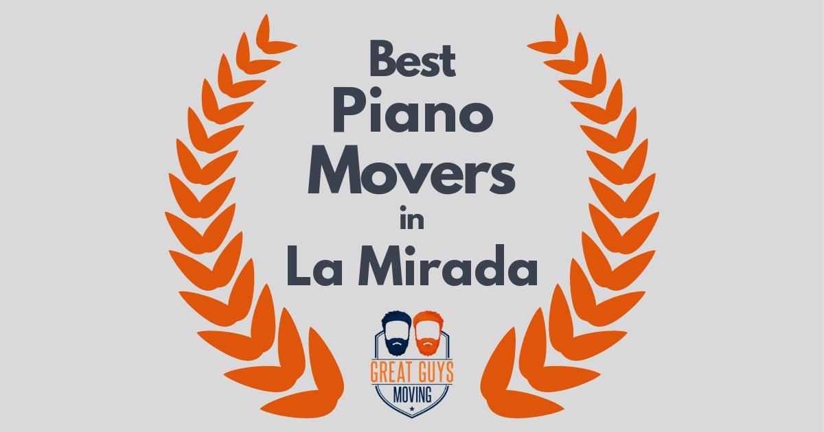 Best Piano Movers in La Mirada, CA