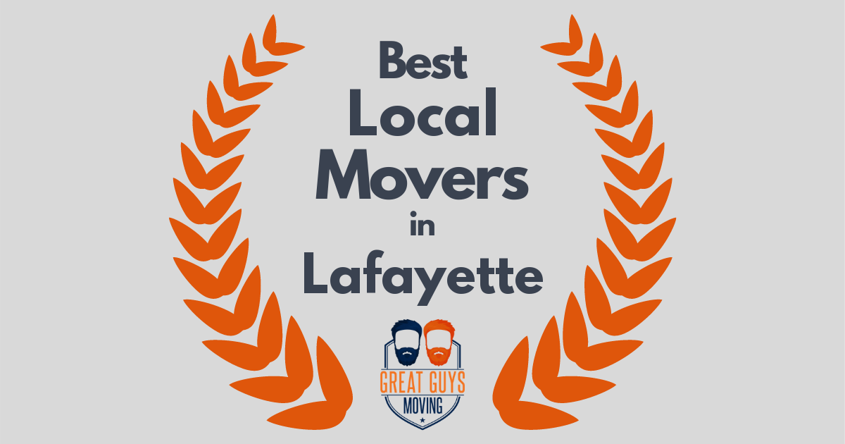 Best Local Movers in Lafayette, CA