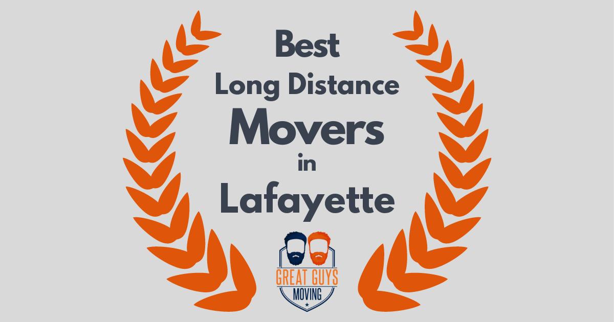 Best Long Distance Movers in Lafayette, CA