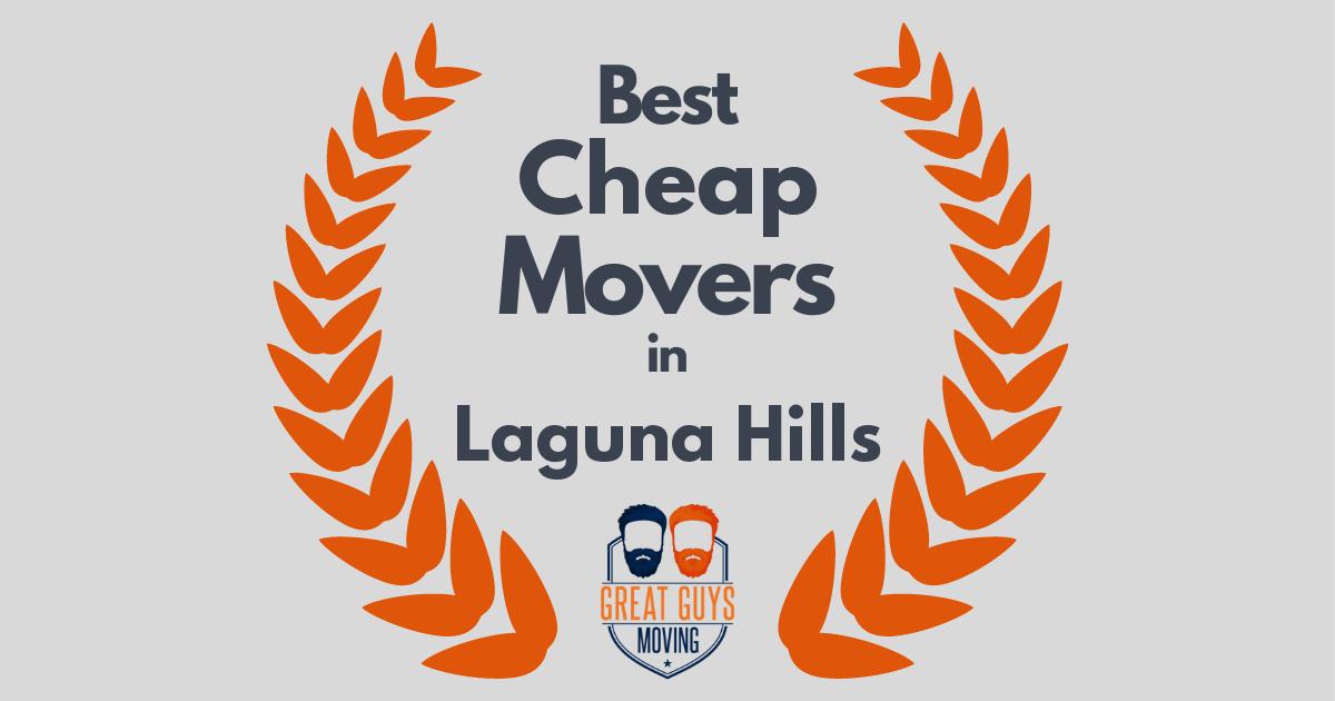 Best Cheap Movers in Laguna Hills, CA